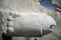 天坛古代排水系统-凤出水石雕