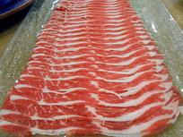 北京东来顺涮羊肉配菜牛肉卷