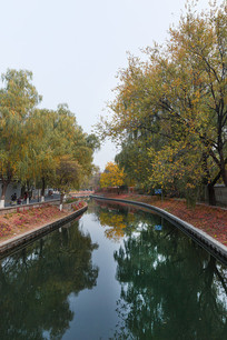 北京南长河秋季风光