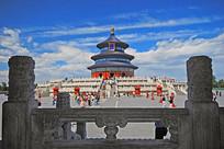 北京天坛-祈年殿-望柱