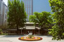 北京协和医院旧址庭院