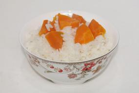 红萝卜白米饭