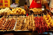北京东华门夜市小吃-烧烤