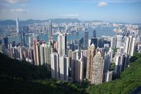 山顶俯瞰香港