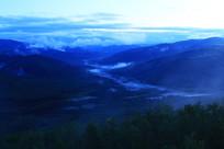 山岭山林云海风景