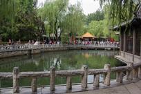 山东济南趵突泉公园园林景观