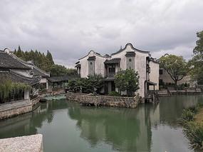 乌镇的水上建筑