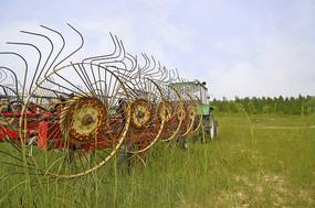 北京野鸭湖湿地农业机械