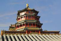 北京颐和园佛香阁