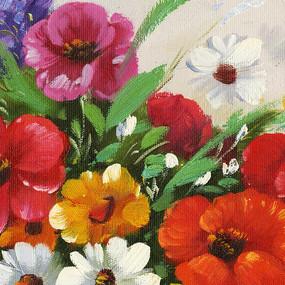 数码印花花卉图