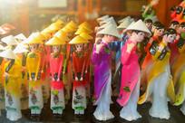 越南奥黛-少女旅游纪念品摆件