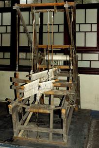 川西老物件纺车