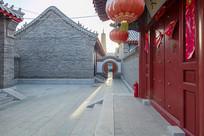 滨州无棣县大觉寺中式建筑