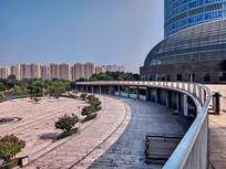 山东高速广场外景