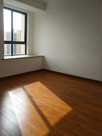 阳光洒满卧室