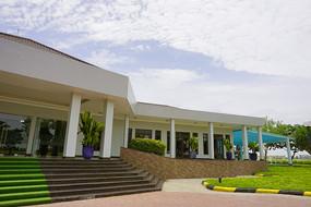 越南大安工业区招商处的办公楼