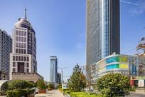 济南绿地中心和交通银行