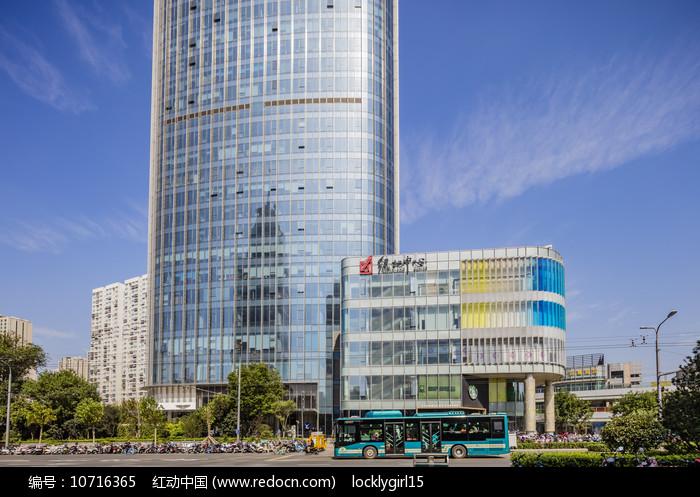 济南市绿地中心图片