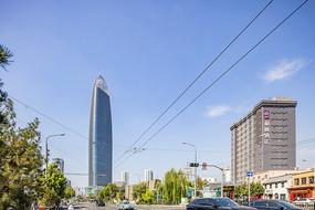 济南城市风光之绿地中心