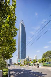 济南第一高楼之绿地普利中心