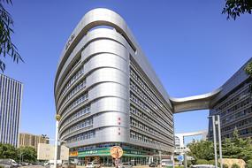 济南银荷大厦建筑外观