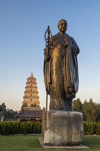 玄奘法师雕塑