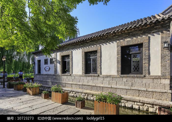 济南百花洲老建筑图片