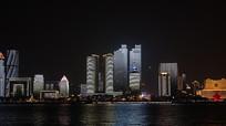 青岛高楼夜景