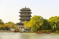 济南大明湖风景区超然楼