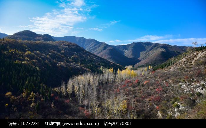 彩色的山谷图片