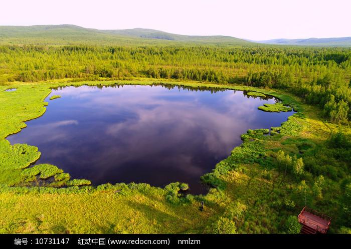 大兴安岭马兰湖风景图片