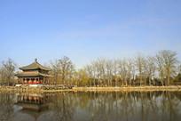 北京圆明园鉴碧亭-万春园初春