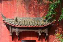 成都石经寺传统木垂花柱