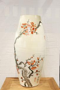 磁州窑现代工艺梅花瓶