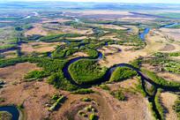 内蒙古呼伦贝尔扎敦河地理风光