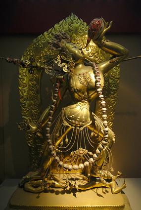 雍和宫铜像-空行母