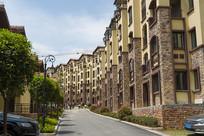 重庆市巫山县摩天岭街景