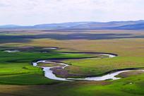 内蒙古呼伦贝尔草原之河