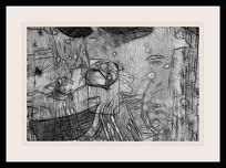 黑白艺术壁画