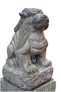 中国古代神话神兽雕塑-嘲风