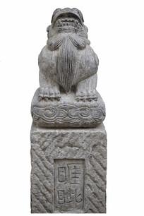 中国古代神话神兽石刻睚眦