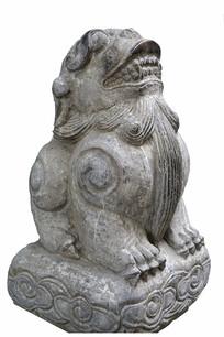 中国古代神话神兽睚眦石刻