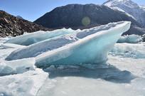 冰川雪山风光图片
