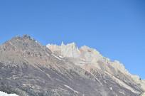 蓝天高山山脉