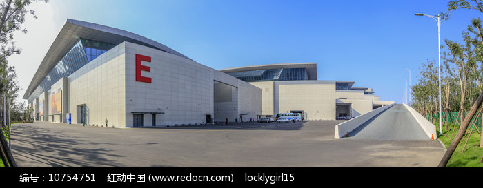 山东国际会展中心E号馆全景图片