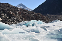 冰川雪山风光