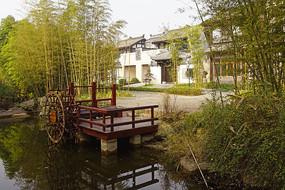 成都博客小镇水景园林造景