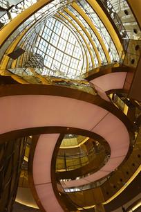 韩国乐天世界大厦室内空间设计