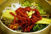韩国牛肉拌饭