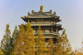 济南市大明湖公园超然楼